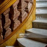 Detail Of The Colourful Italian Carrara Marble Staircase At Historic News Photo Getty Images