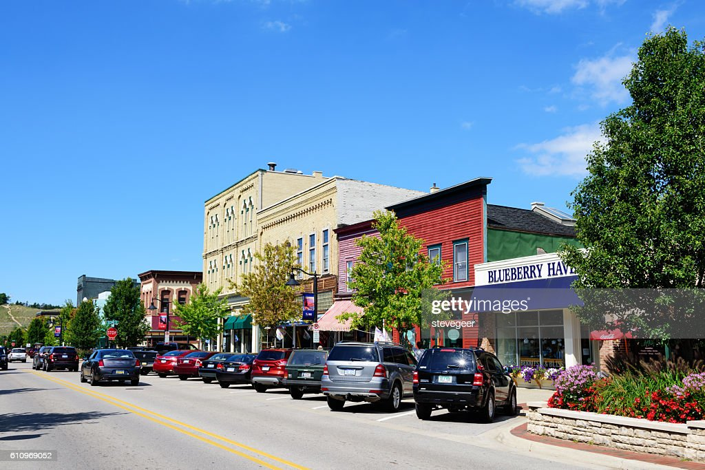 Grand Haven Michigan Downtown Districts