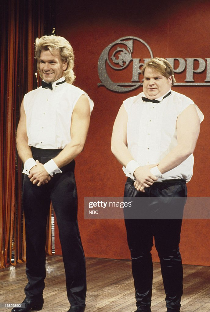 Chris Farley Chippendales Skit