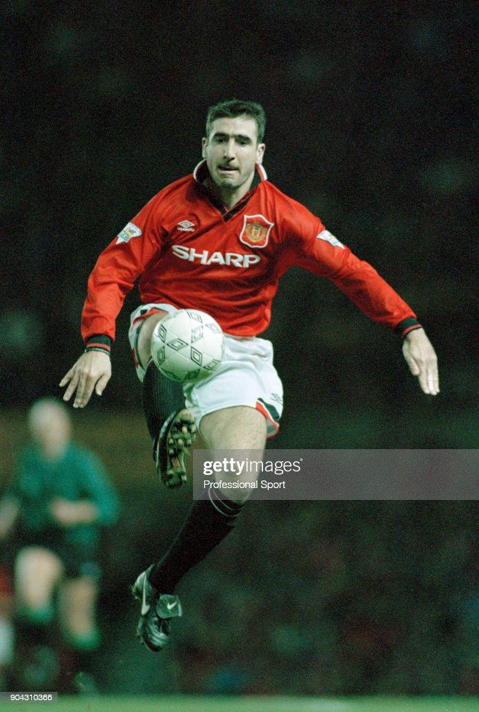 Cantona remained captain until the selhurst park incident in january 1995. Cantona Bildbanksfoton Och Bilder Getty Images