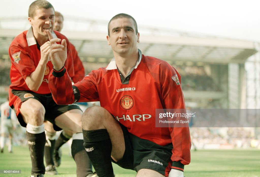 Cantona confirmed keane's account when speaking on unfiltered, calling the police officer who struck him a weak man. the former united forward said he reacted. Eric Cantona Of Manchester United Is Joined By Teammate Roy Keane To News Photo Getty Images