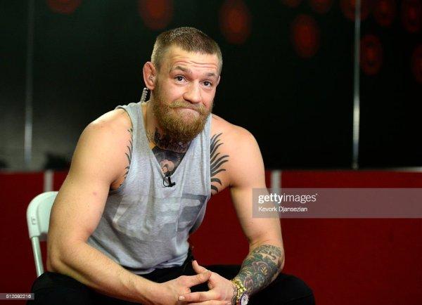 McGregor v Diaz - Press Conference   Getty Images