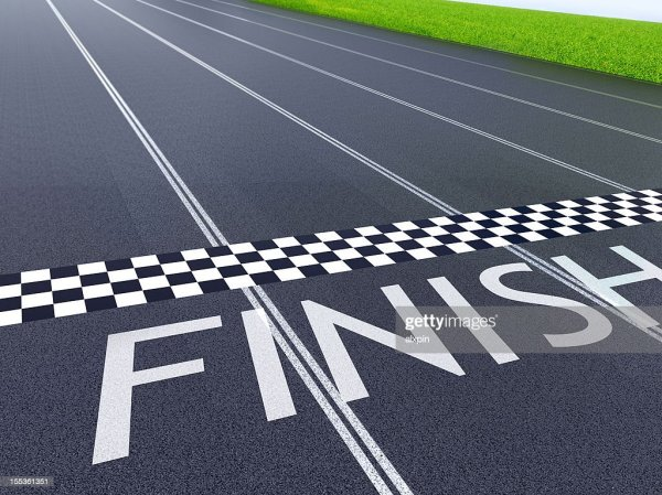 Finish Line Stock Photo | Getty Images