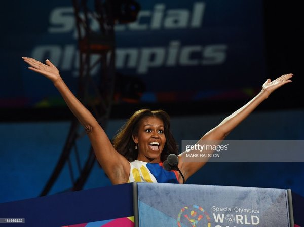 US First Lady Michelle Obama declares the 2015 Special ...