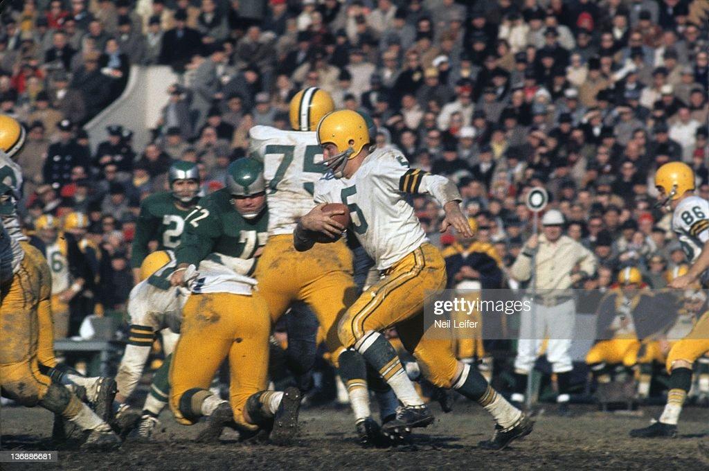 Philadelphia Eagles vs Green Bay Packers, 1960 NFL ...