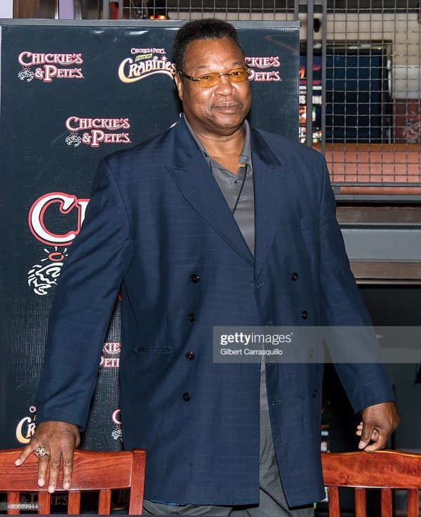 Larry Holmes Fan Meet And Greet | Getty Images