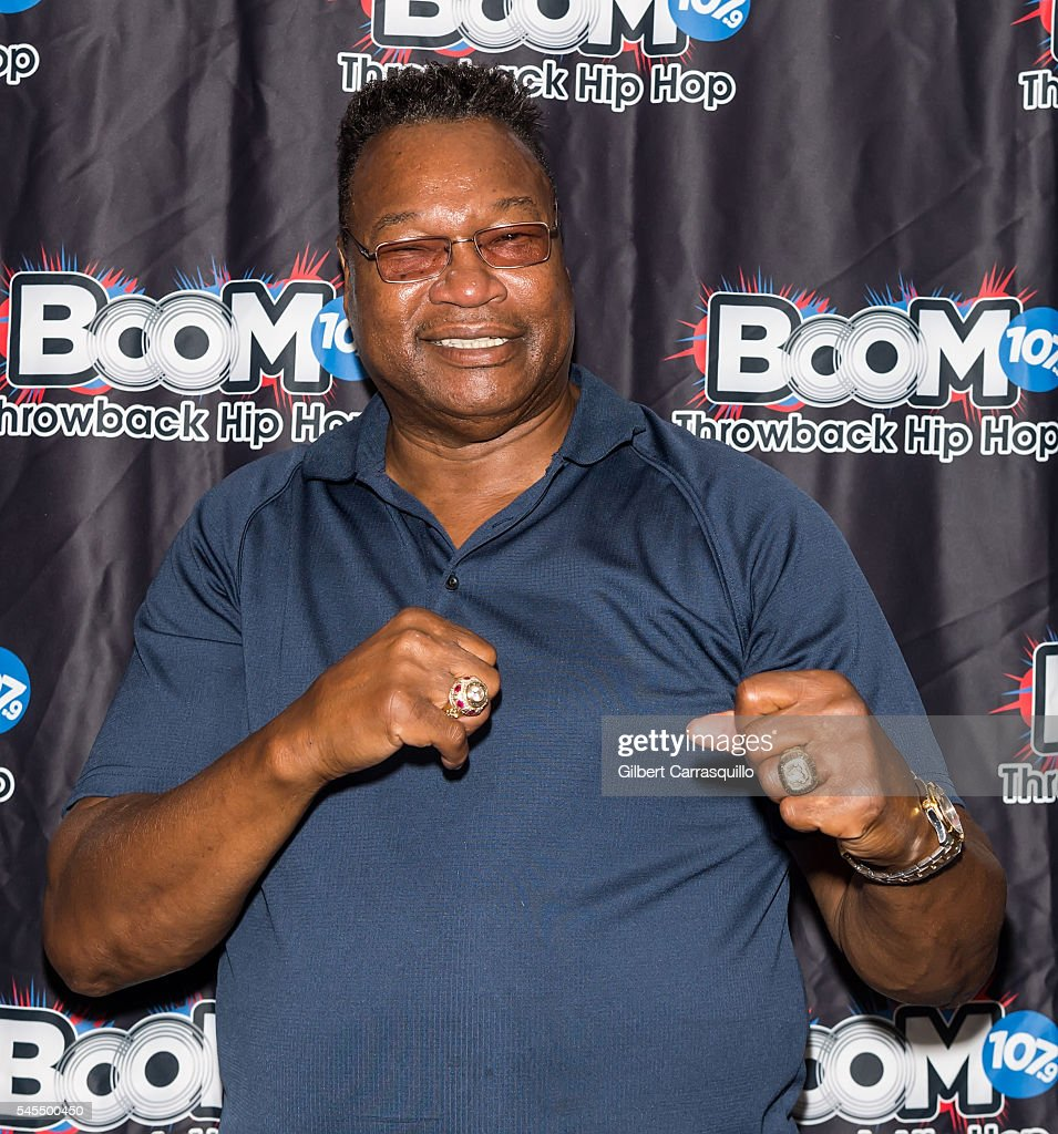 Former professional boxer Larry Holmes aka The Easton ...