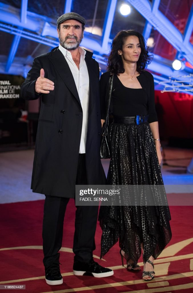 There was no mention of cantona's first wife, isabelle ferrer, a teacher, nor of his two children. French Actor And Former Footballer Eric Cantona And His Wife French News Photo Getty Images