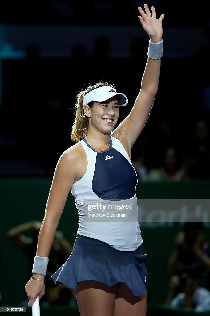 Garbiñe Muguruza Stock Photos and Pictures | Getty Images