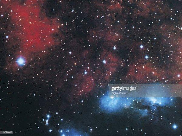 Gaseous Nebula In Cygnus Stock Photo - Getty Images
