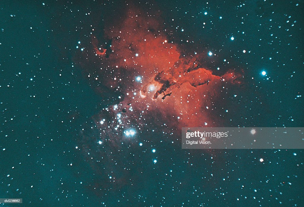 Gaseous Nebula In Serpens High-Res Stock Photo - Getty Images