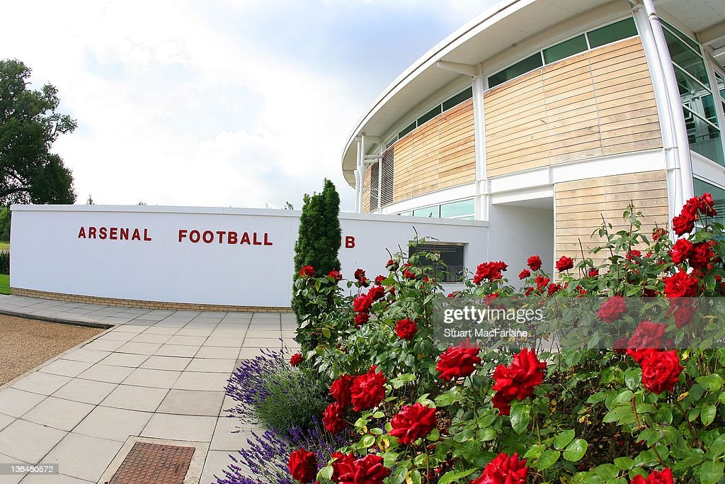 https www gettyimages com photos views of arsenal london colney training ground