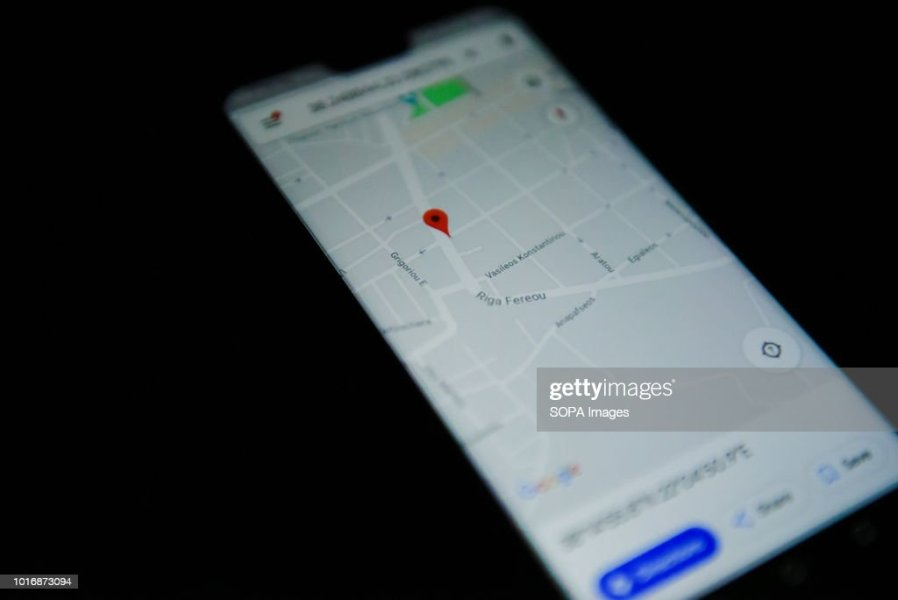 Google maps app is seen on an android mobile phone    Pictures     Google maps app is seen on an android mobile phone