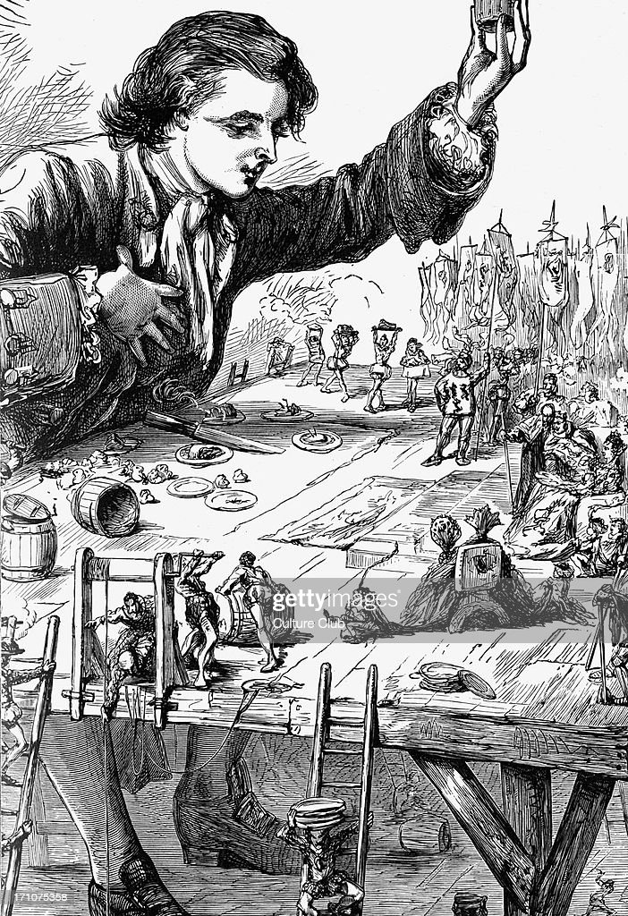 Gullivers Travels By Jonathan Swift Stock Photos and ...