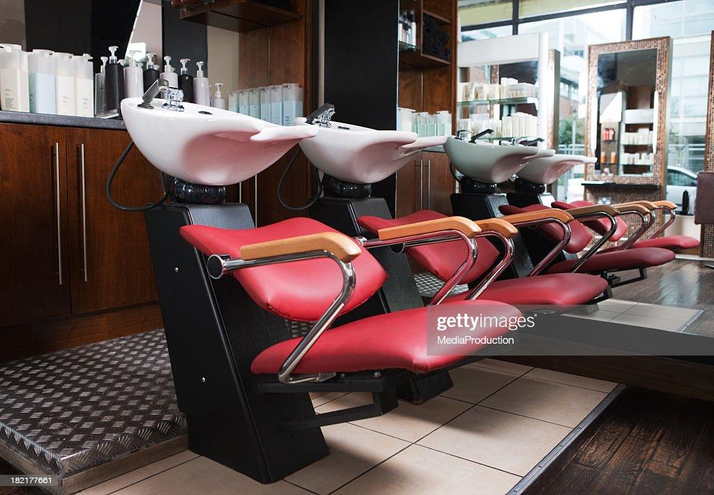https www gettyimages com photos hair salon sink