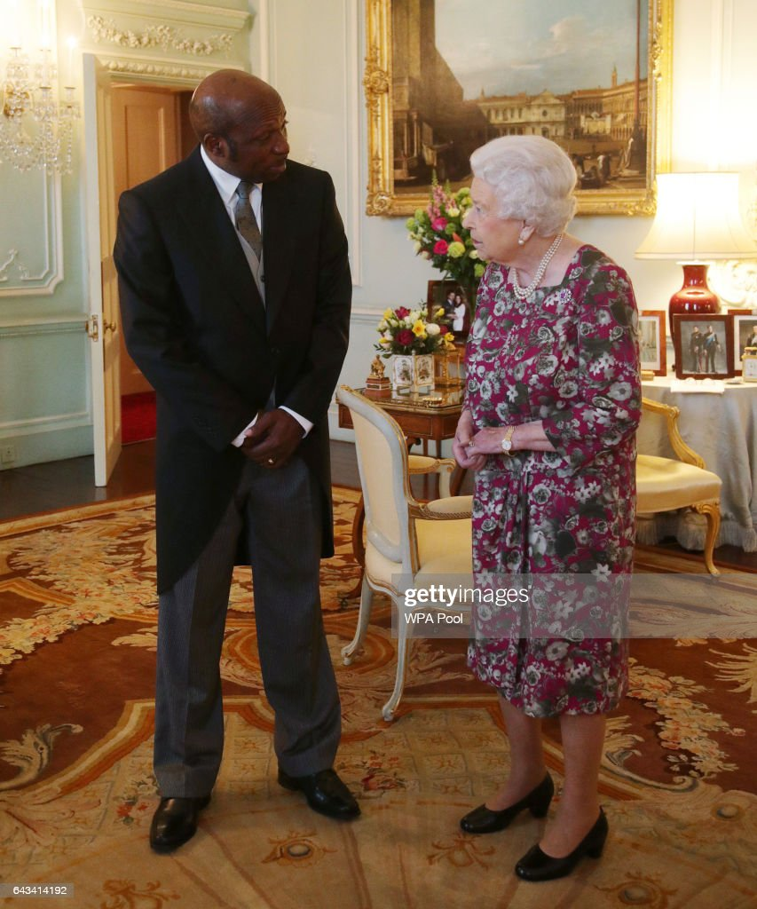 Audience with Queen Elizabeth II at Buckingham Palace ...