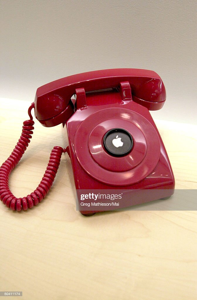 Hotline phone at Apple retail store  whi Pictures   Getty Images Hotline phone at Apple retail store  whi