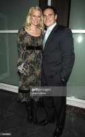 Jay Feely with wife Rebecca Feely during The Muscular ...