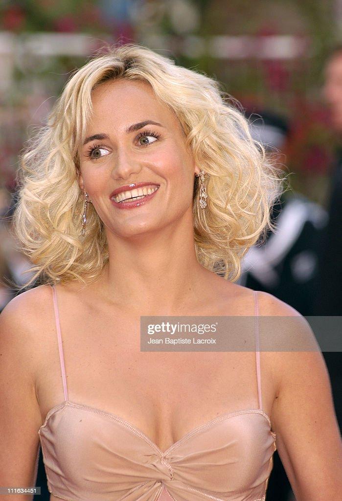 Judith Godreche during 2003 Cannes Film Festival - Closing ...