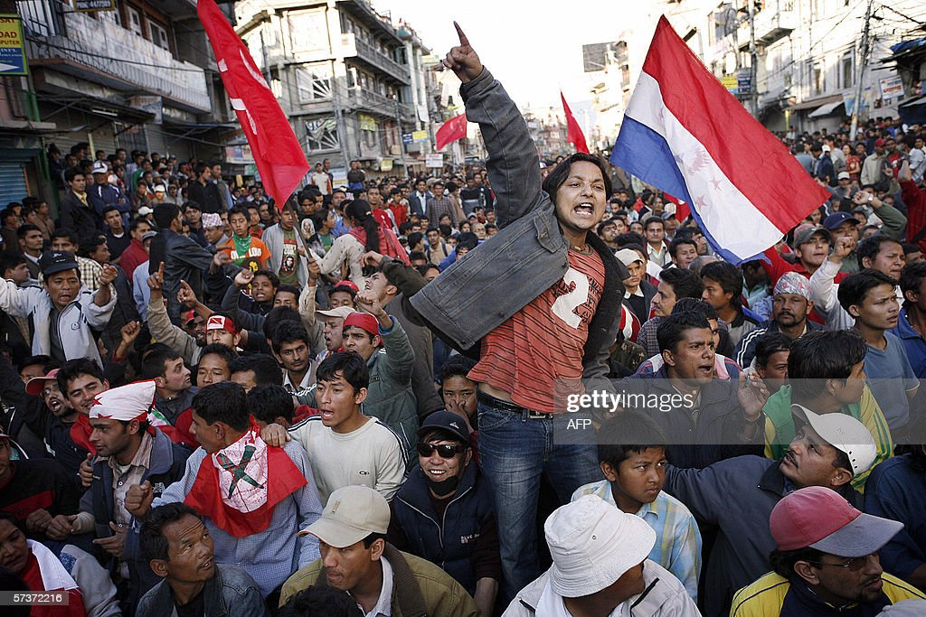 Anti-Monarchy Protests Continue In Nepal Photos and Images ...