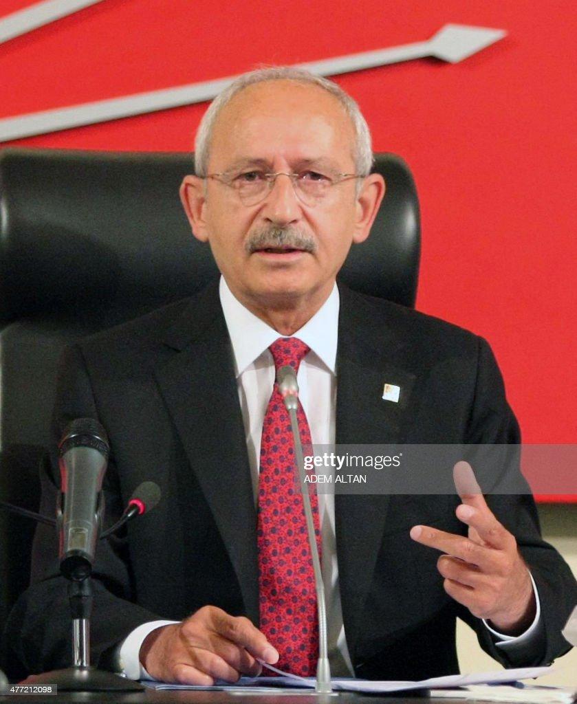 Kemal Kilicdaroglu, leader of Turkey's main opposition ...