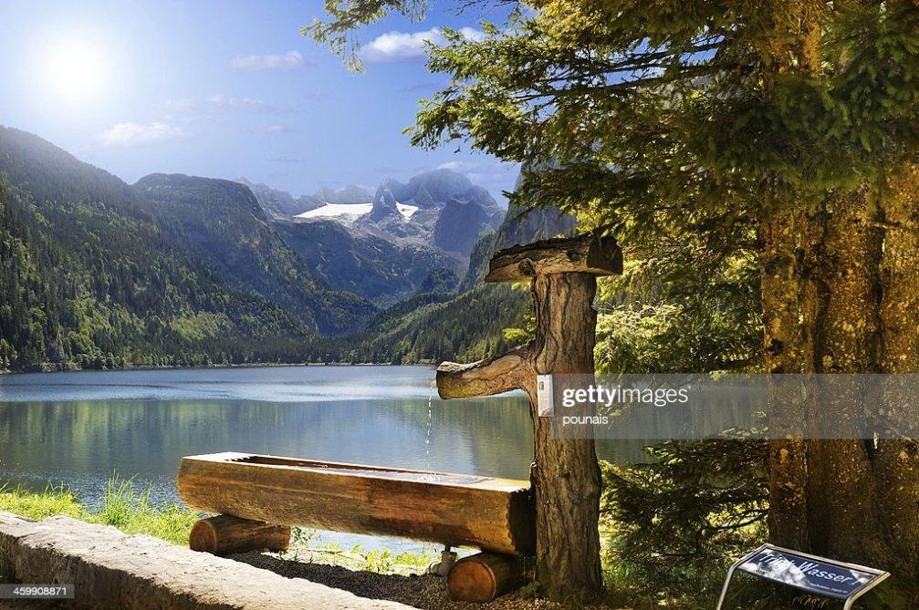 lac inferieur de gosau autriche photo