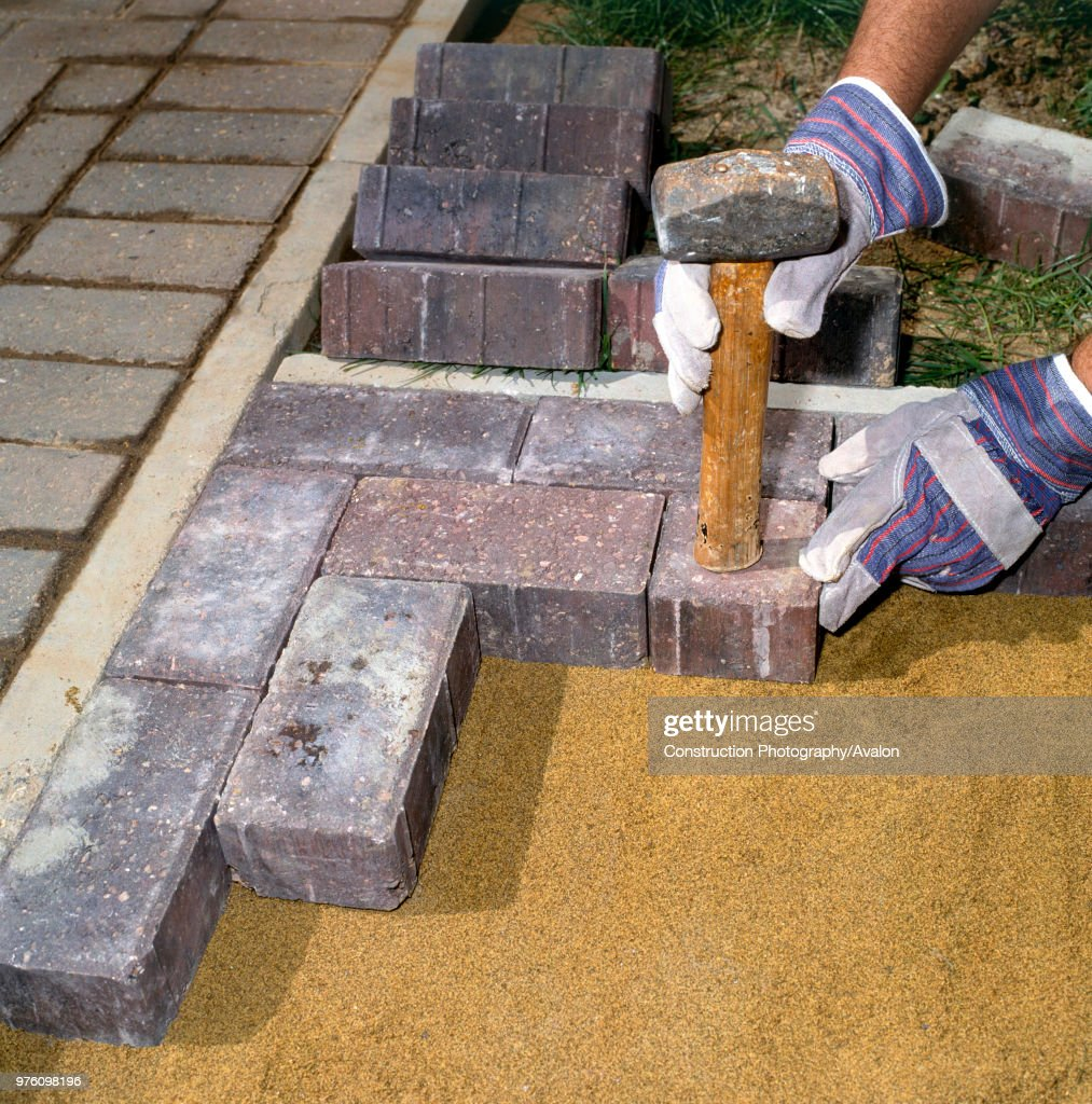 https www gettyimages com detail news photo laying paving stones in a front garden news photo 976098196