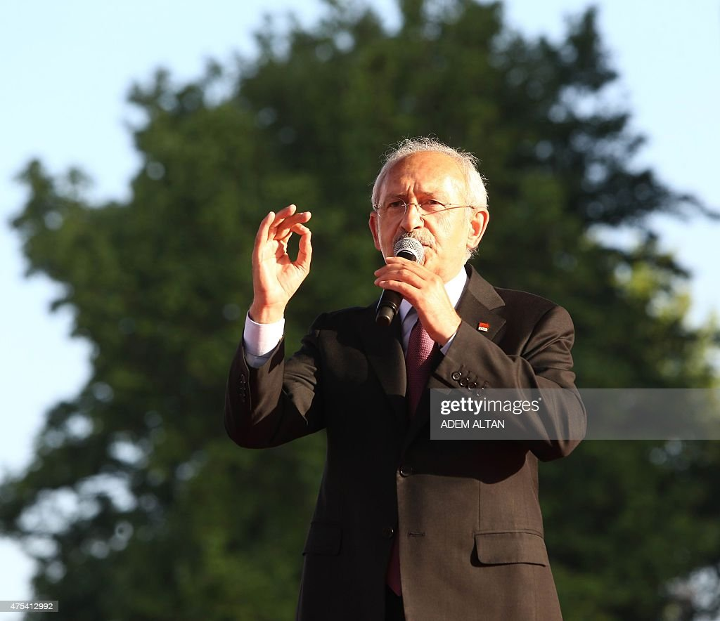 Leader of Turkey's main opposition Republican People's ...