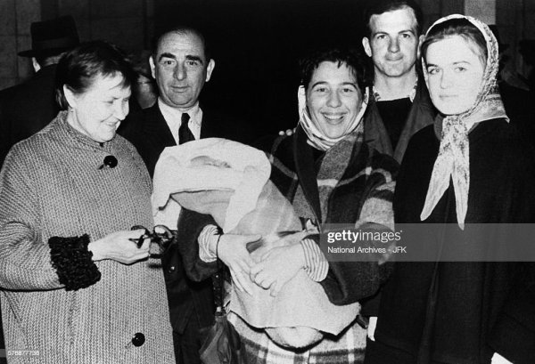 Lee Harvey Oswald with Marina and friends in Russia before ...