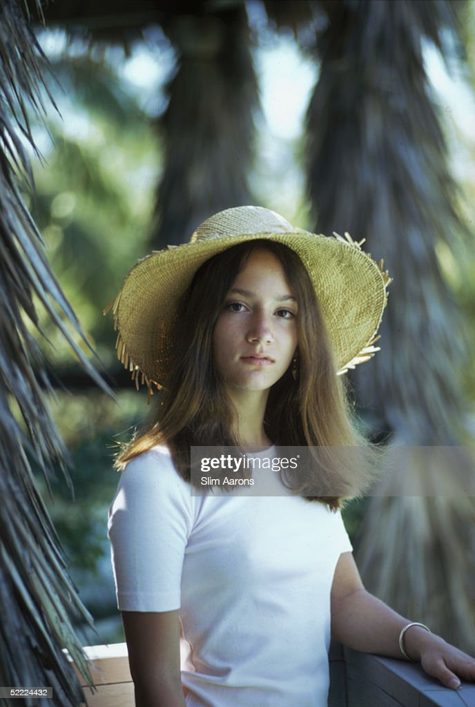Lee Radziwills Daughter Anna Christina Radziwill Posing