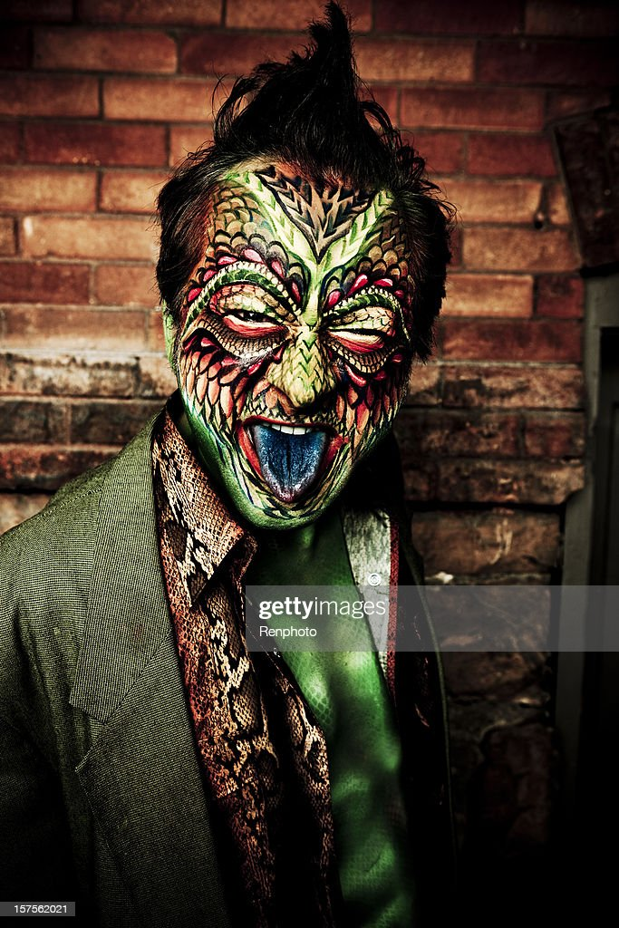 Lizard Man Stock Photo | Getty Images