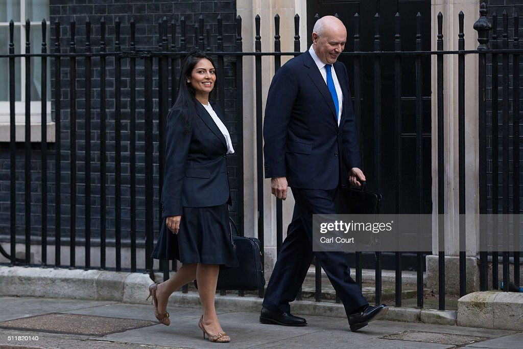 Priti Patel Stock Photos and Pictures | Getty Images