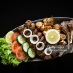 Mixed Meat Platter With Salad High Res Stock Photo Getty Images