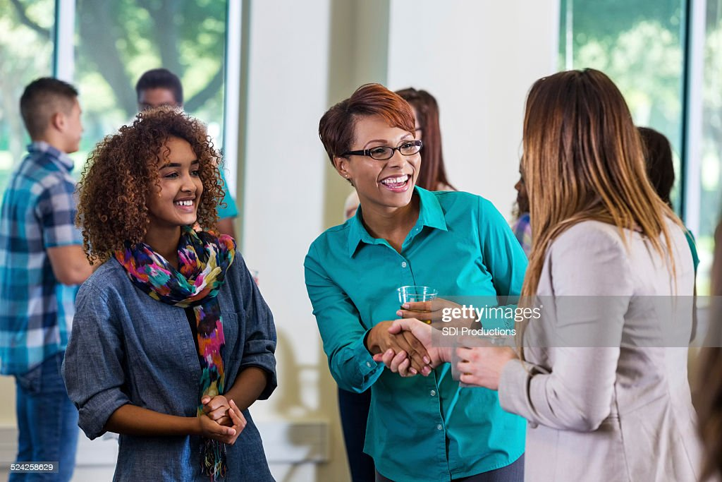 Meet And Greet Stock Photos and Pictures | Getty Images