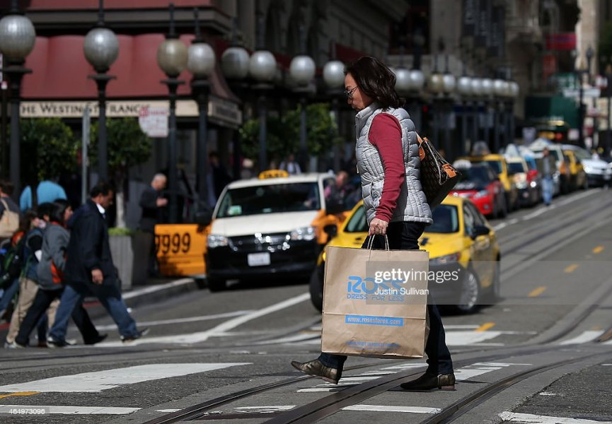 Ross Dress For Less Stock Photos and Pictures   Getty Images A pedestrian carries a Ross Dress For Less shopping bag on March 2 2015 in  San