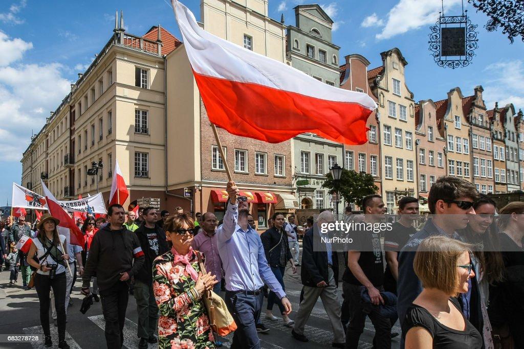 Far-right organizations celebrate Witold Pilecki in Gdansk ...