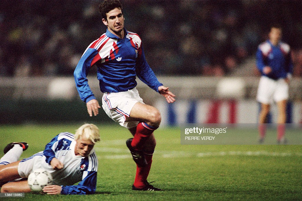 43 (20 goals), france honours: 1 842 French Eric Cantona Photos And Premium High Res Pictures Getty Images