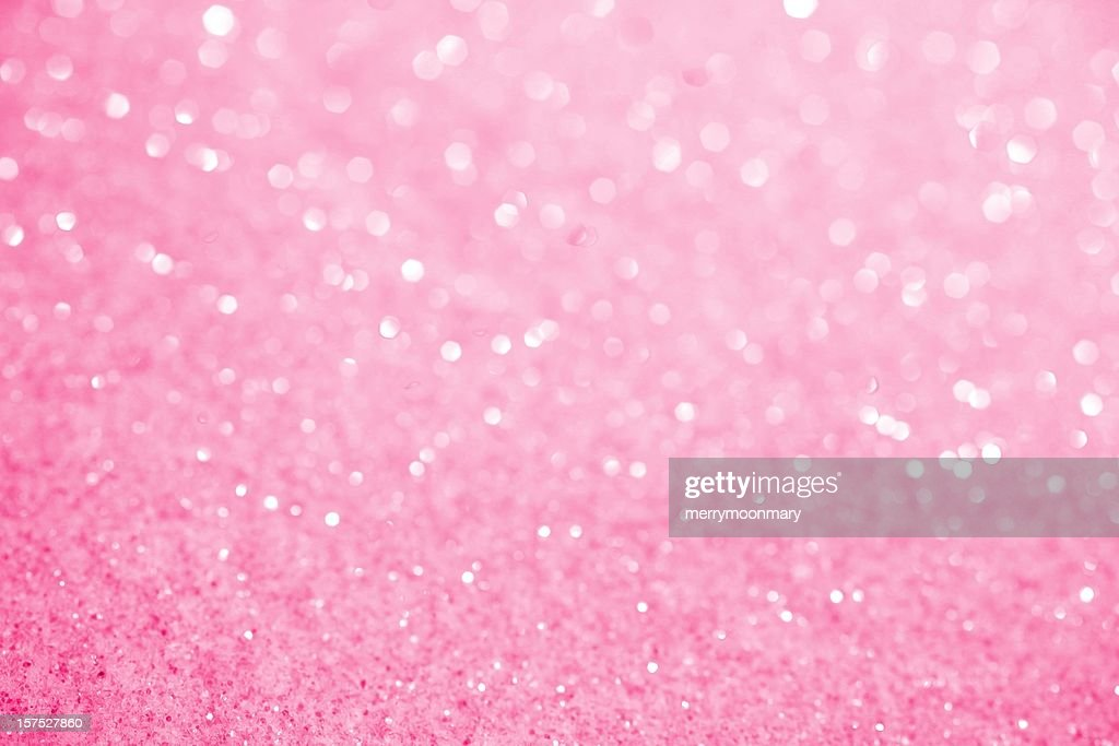 Girly Wallpapers Stock Photos and Pictures   Getty Images Pink Sugar Sparkle Background