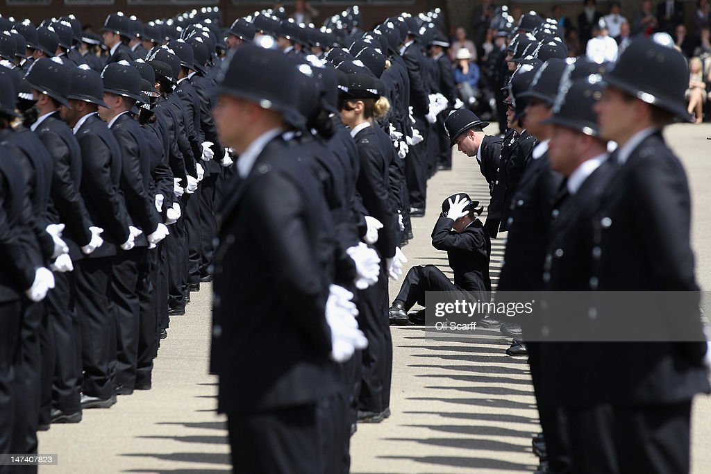 Police Officers Graduate At Hendon Police Training College ...