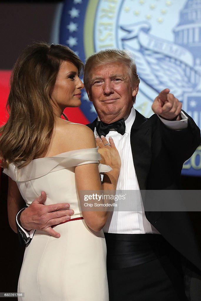 President Donald Trump Attends Inauguration Freedom Ball ...