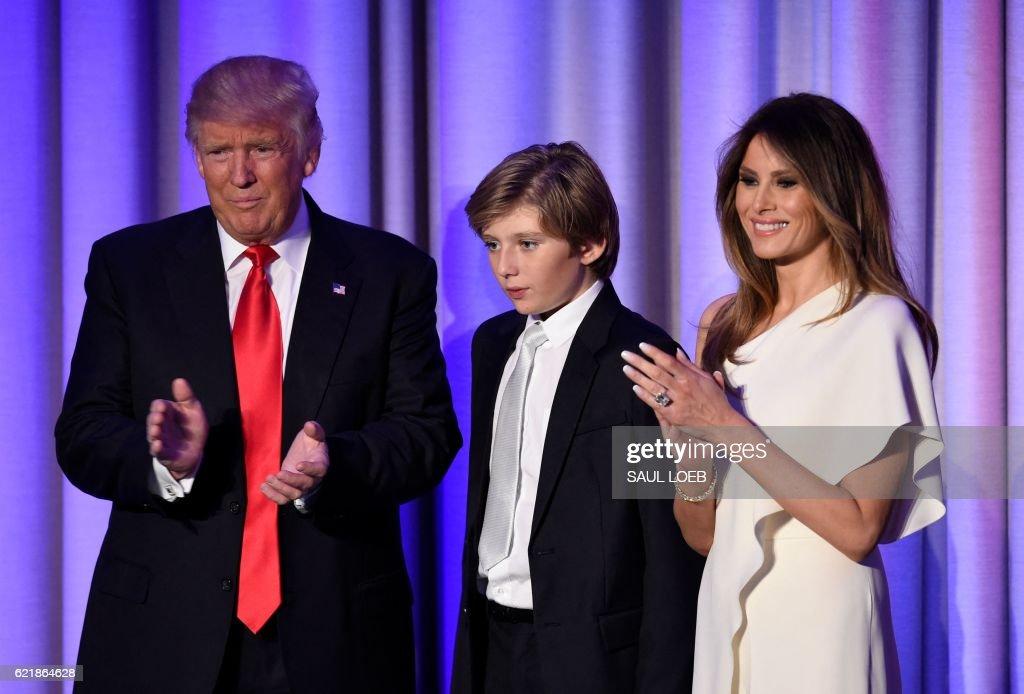 Barron Trump Photos et images de collection | Getty Images
