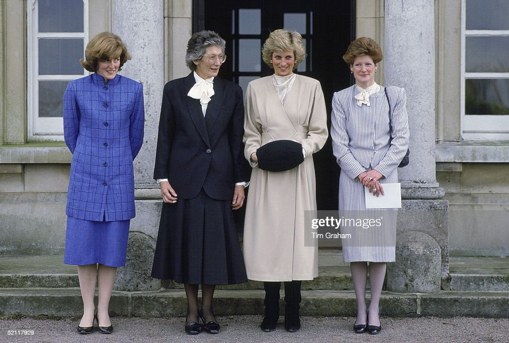 Diana And Sisters West Heath School Pictures   Getty Images