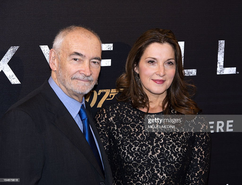 Michael G  Wilson Screenwriter Stock Photos and Pictures   Getty Images US producer and screenwriter Michael G Wilson and Barbara Broccoili pose  prior to attend the James