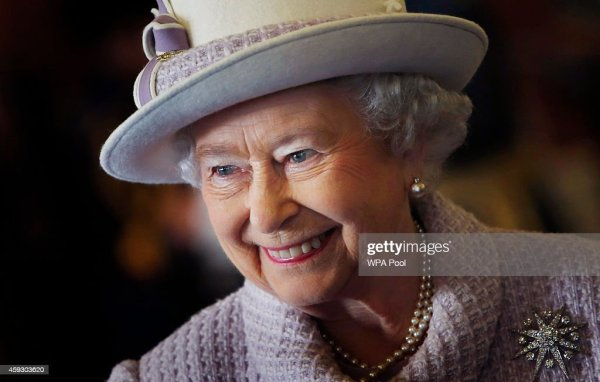 Queen Elizabeth II Visits RAF Lossiemouth Getty Images