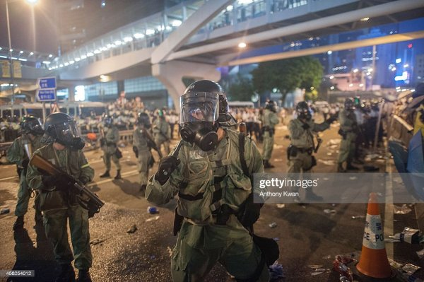 Pro Democracy Supporters Attempt To Bring Hong Kong To A ...