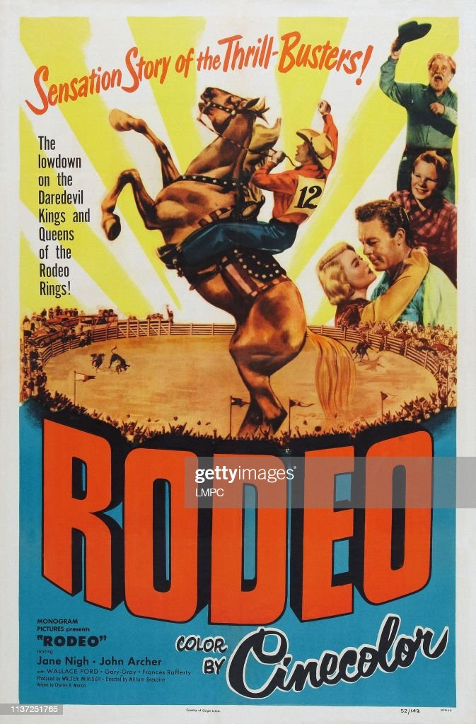 https www gettyimages com detail news photo rodeo poster us poster art right from top wallace ford gary news photo 1137251765