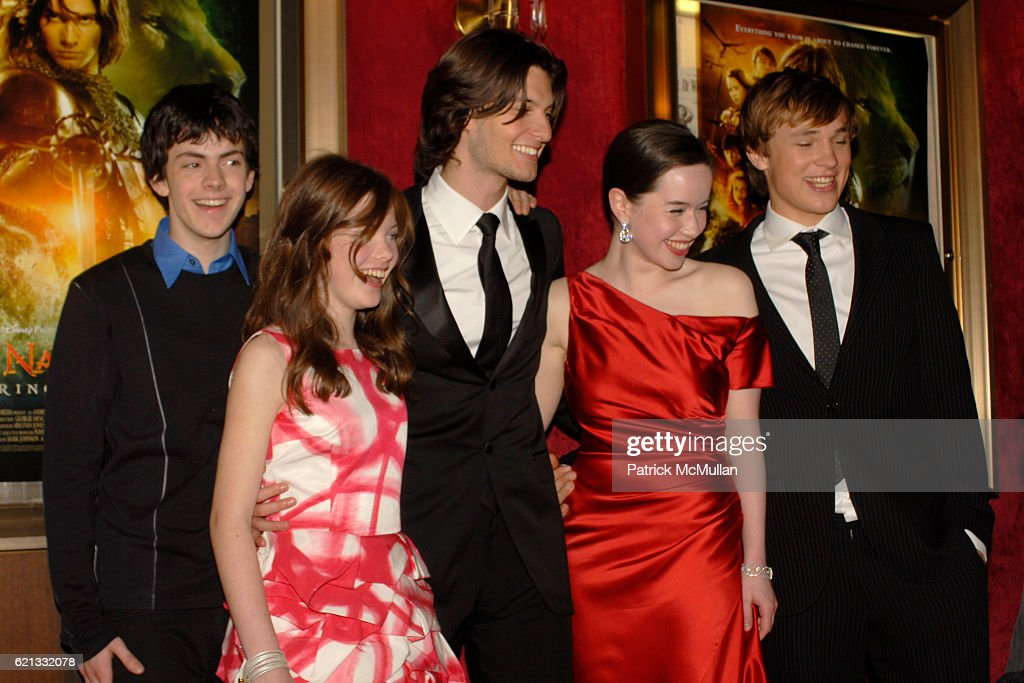 Georgie Henley And Ben Barnes Stock Photos And Pictures