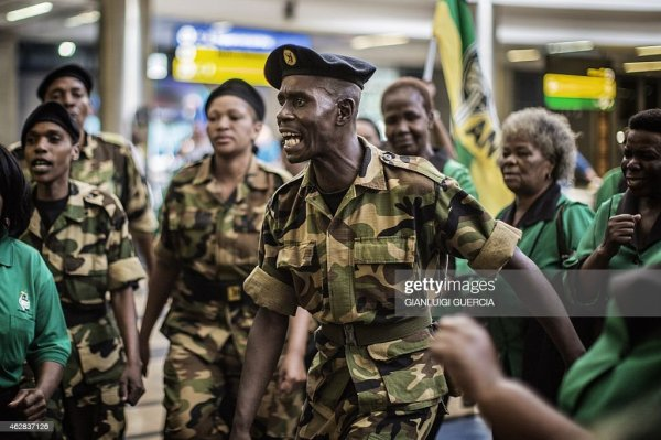 South African ruling party African National Congress Women ...