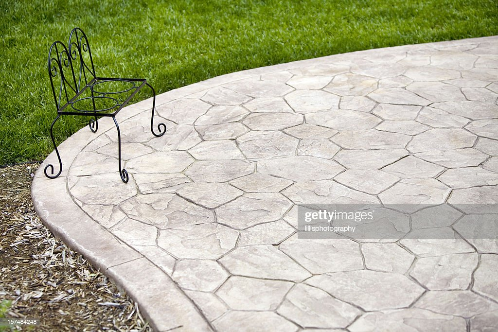 https www gettyimages com photos stamped concrete
