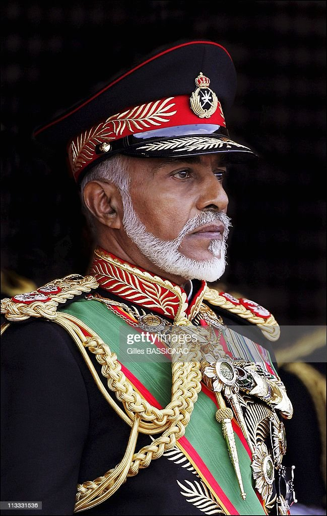Qaboos Bin Said Al Said Stock Photos and Pictures | Getty ...